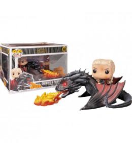 Funko POP! Juego de Tronos - Daenerys en Drogon con Fuego