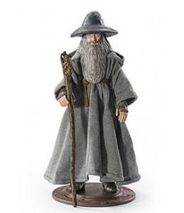 Figura Maleable Bendyfigs Gandalf el Gris -El Señor de los Anillos
