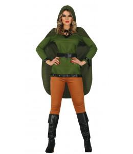 Disfraz de Arquera Verde