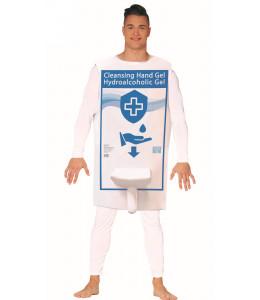 Disfraz de Dispensador de Gel Hidroalcoholico