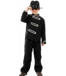 Disfraz de Rey del Pop Infantul
