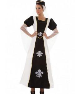 Disfraz de Duquesa Medieval de Lis