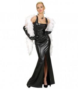 Vestido Negro Cocktail Mujer