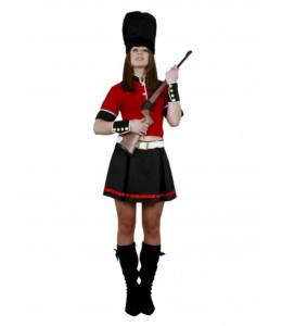 Disfraz de Guardia Inglesa Mujer