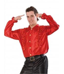 Camisa Disco Roja Hombre