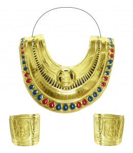 Set Collar y Brazalete  de Cleopatra