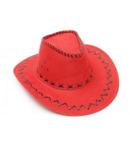 Sombrero Vaquero Tejano Rojo