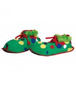 Zapatos de Payaso de Tela