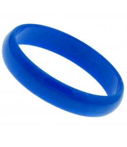 Pulsera de Aro Grande Azul