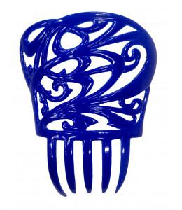 Peineta de Sevillana Pequeña Azul