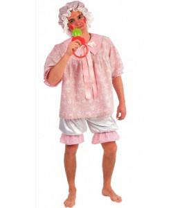 Disfraz de Bebe Rosa