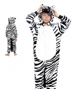 Disfraz de Cebra Pijama Peluche Infantil