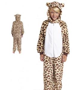 Disfraz de Leopardo Pijama Peluche Infantil