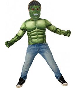 Disfraz de Hulk con Mascara y Guantes Infantil