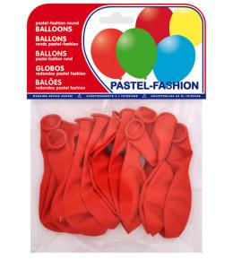 Bolsa de 12 Globos Rojos