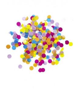 Confetti de Papel Multicolor de 1.50cm