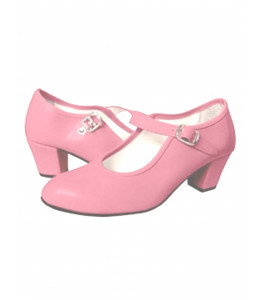 Zapatos Tacon Rosa
