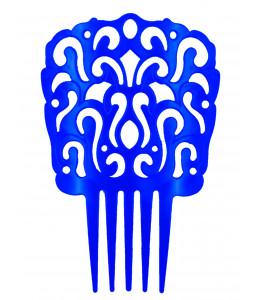 Peineta de Sevillana Grande Azul