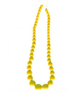 Collar de Sevillana Grande Amarillo