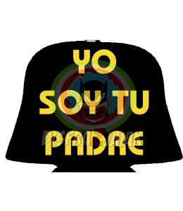 Vinilo Textil Yo Soy tu Padre 23x23