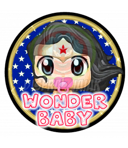 Vinilo Textil Wonder Baby 15x15