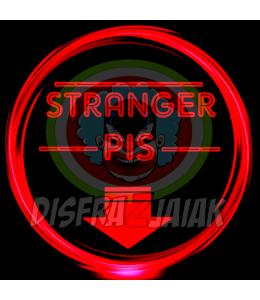 Vinilo Textil Stranger Pis 15x15