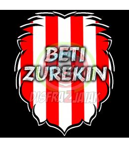 Vinilo Texti Zurigorri Beti Zurekin 6x6