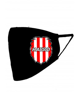 Mascarilla negra Leon Zurigorri Harro (Homologada)