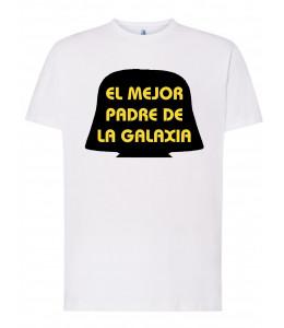Camiseta Friki El Mejor Padre de la Galaxia