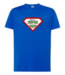 Camiseta Friki Soy un Super Papi