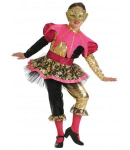 Disfraz de Arlequina Niña