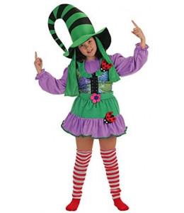 Disfraz de Duendecilla Verde Niña