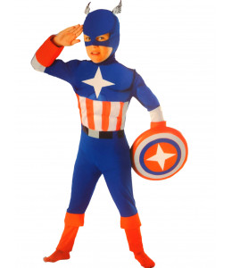 Disfraz de Heroe America