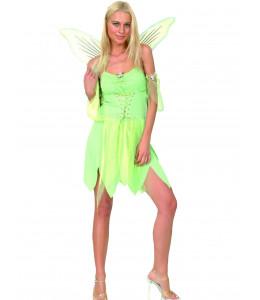 Disfraz de Hada Verde Mujer