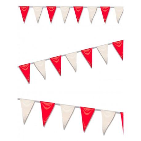 Banderines rojos y blancos Athletic