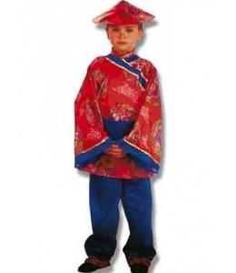 Disfraz de Chino Rojo Niño