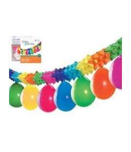 Guirnalda Multicolor con Globos