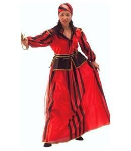 Disfraz de Piratesa Corsaria Rayas