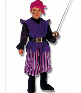Disfraz de Bucanero con Espada  Niño
