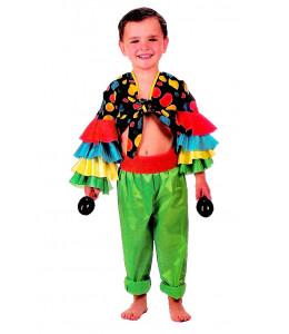 Disfraz de Cubano Colores Niño