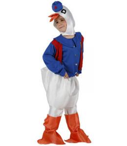 Disfraz de Pato Azul Infantil