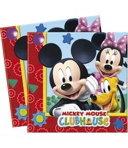 Servilletas Mickey 20 Unidades