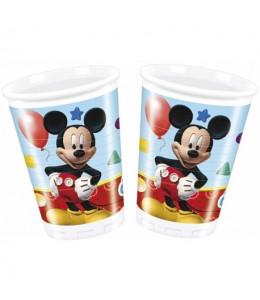 Vasos Mickey 8 Unidades