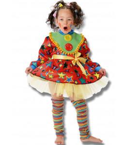 Disfraz de Payasina Niña