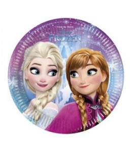 Platos Frozen 8 unidades 20 cm
