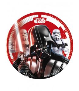 Platos Star Wars 8 Unidades