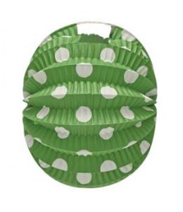 Farol Esferico Verde Lunar Blanco