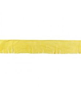 Guirnalda de Flecos de Plastico Amarillo