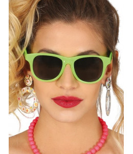 Gafas de Neon Verde