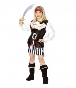 Disfraz de Piratesa Niña